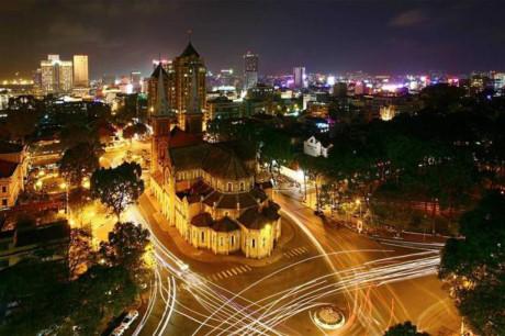 Thành phố Hồ Chí Minh từ góc trên cao, đẹp đến lạ lùng