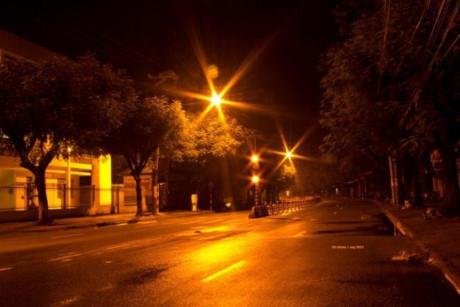 Những con phố thưa người...