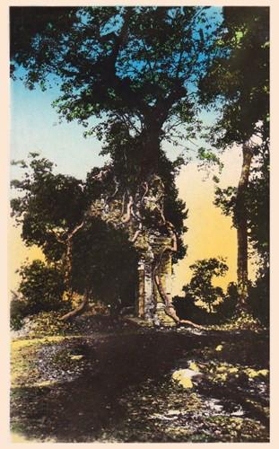 Tháp cổ Bình Thạnh của văn hóa Óc Eo ở Trảng Bàng, Tây Ninh. Ảnh tư liệu.