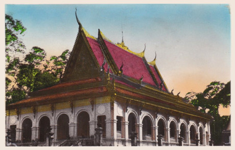 Chùa Ông Mẹt (chùa Bodhisálaràja) của người Khmer ở Trà Vinh. Ảnh tư liệu.