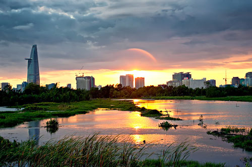 Sài Gòn lúc chiều tà