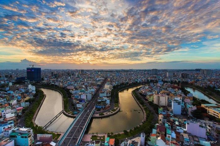 Sông nước Sài Gòn - Ảnh: Hop Nguyenvan