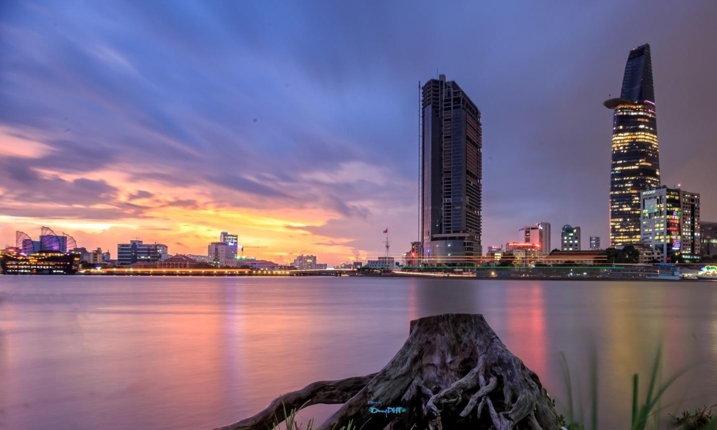 Một góc bình yên từ quận 2 - Ảnh: Dung Pham