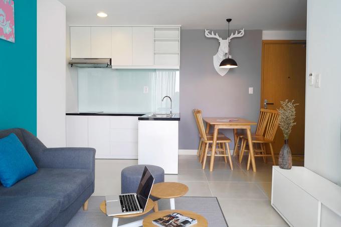 Khoản tiền để làm nội thất rất hạn chế (120 triệu đồng) nên bên thiết kế phải cân nhắc kỹ phương án thi công và lựa chọn vật liệu phù hợp