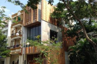 Chất lượng cuộc sống được chú trọng và kết nối con người với thiên nhiên là những ý tưởng thiết kế của ngôi nhà ở Phú Mỹ Hưng, phía Nam Sài Gòn.