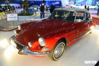 Chiếc Citroen DS 1967 được trưng bày tại triển lãm