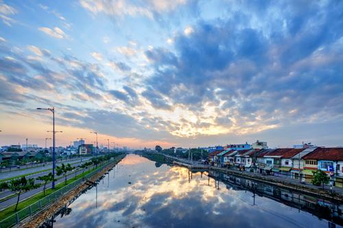 Bến Bình Đông còn mang đậm nét kiến trúc đặc thù của cộng đồng người Hoa