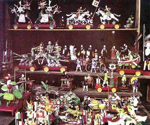 Đồ chơi Trung thu xưa gắn với truyền thống dân tộc (đầu thế kỷ 20).