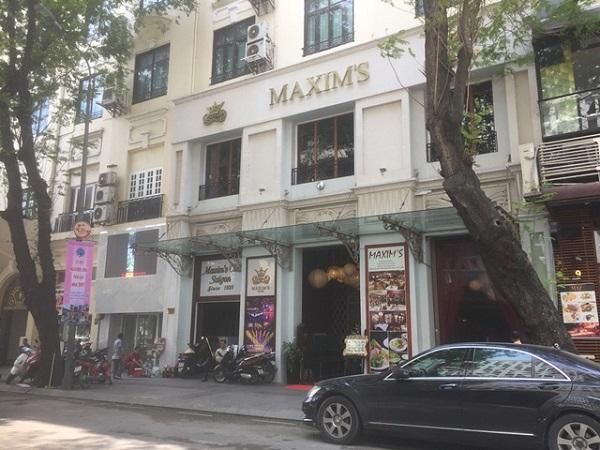 Nhà hàng Maxim's trước đây là rạp Majestic.