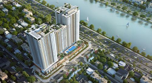 Viva Riverside một trong những dự án góp phần thay đổi diện mạo của Bến Bình Đông.