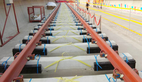 Khổ đường ray rộng 1.435mm theo tiêu chuẩn quốc tế