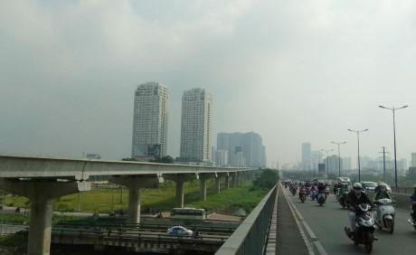Dự án xây dựng tuyến Metro số 1 Bến Thành - Suối Tiên đã thi công đạt 43% khối lượng.