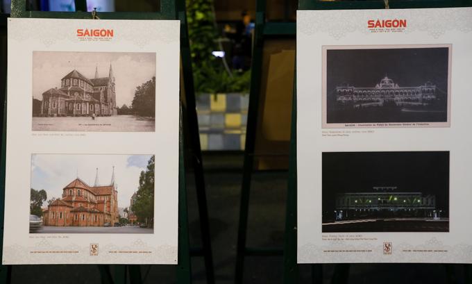 Nhà thờ Đức Bà qua ảnh chụp năm 1910 đến nay vẫn nguyên vẹn. Tuy nhiên, dinh Norodom như trong ảnh chụp năm 1920 thì đã không còn nữa do bị ném bom năm 1962. Do không thể phục hồi nên Tổng thống Ngô Đình Diệm cho xây dựng Dinh Thống Nhất (sau năm 1975 đổi tên thành Dinh Độc Lập), với thiết kế của kiến trúc sư Ngô Viết Thụ.