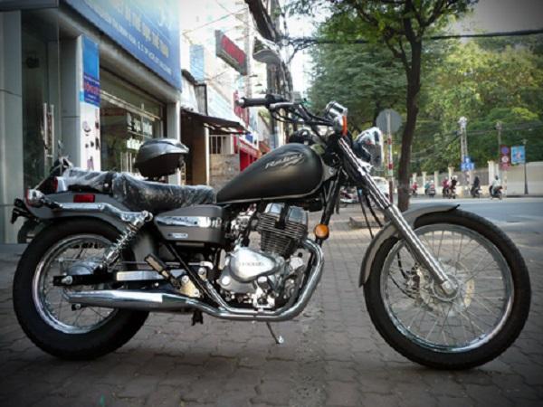 Honda Rebel 250 phiên bản 2012 được Saigonmoto nhập về Việt Nam