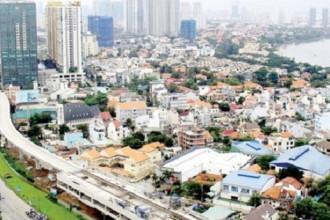Metro Bến Thành – Suối Tiên đoạn đi trên cao. Ảnh: Thái Hòa.