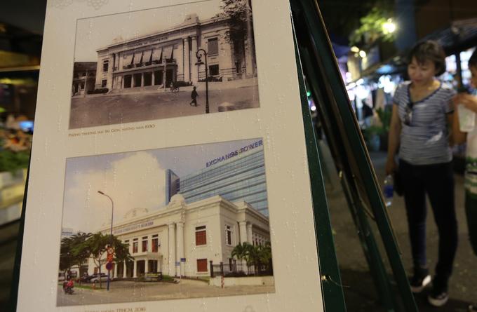 Sở giao dịch chứng khoán TP HCM ngày nay từng là trụ sở của phòng thương mại Sài Gòn vào thời Pháp thuộc. Tòa nhà được xây dựng xong vào năm 1930, trở thành hành dinh của quân đội Nhật, Pháp từ năm 1945 - 1955. Sau đó, công trình này được sử dụng làm Hội trường Diên Hồng rồi thành trụ sở của Thượng viện chính quyền Việt Nam Cộng Hòa.
