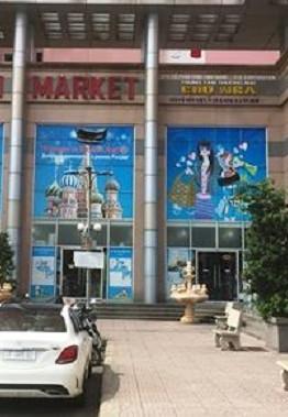 Có một chợ Nga nằm trong lòng Sài Gòn.