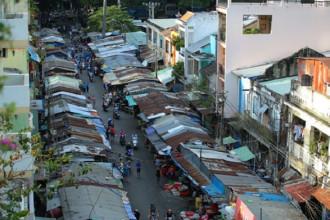 Chợ Cũ Tôn Thất Đạm trước ngày giải tỏa