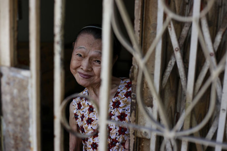 """Bức ảnh đoạt giải 1 chủ đề """"Nụ cười Sài Gòn"""" của tác giả Trịnh Phương Thảo."""