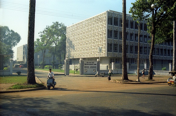 Trường Y khoa Đại học đường Sài Gòn trên đường Hồng Bàng trước năm 1975