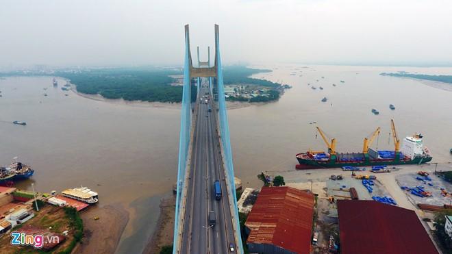 Công trình có tổng mức đầu tư hơn 2.000 tỷ đồng, khởi công từ tháng 9/2005, vượt tiến độ 4 tháng và khánh thành vào ngày 2/9/2009.