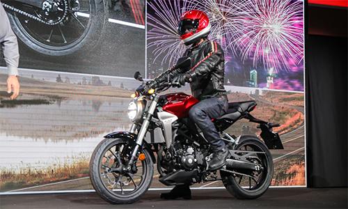 CB300R 2018 ra mắt tại EICMA 2017.