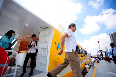 Tàu buýt đường thủy chính thức vận hành ngày 25.11