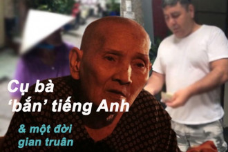 Giữa con phố Tây xa hoa, bà Lê Thị Hai (còn có tên là Kim Anh) nghẹn ngào kể về cuộc đời gian truân của mình