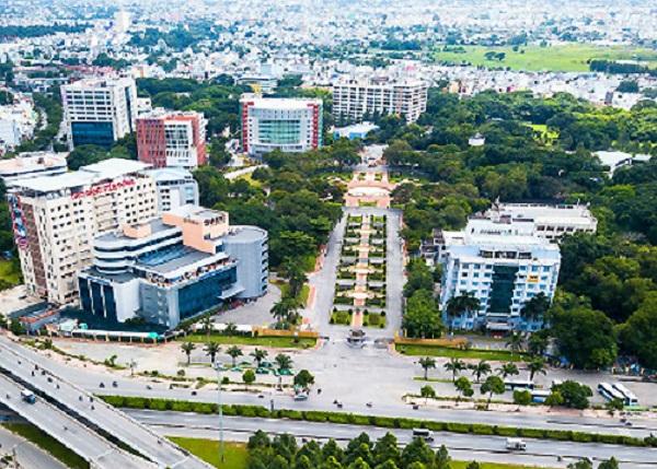 Công viên phần mềm Quang Trung là nơi đang thí điểm đồng bộ các giải pháp đô thị thông minh trong nội khu ở TP HCM.