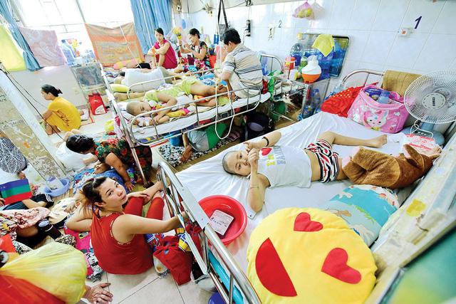 Phòng bệnh của bệnh nhi ung thư tại BV Ung bướu TP.HCM