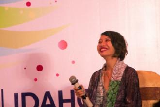 Hứa Minh Quyên lần đầu xuất hiện tại Ngày hội IDAHOT 2017 - Ảnh: P.V