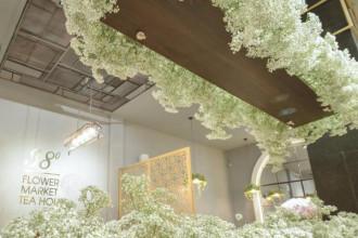 Tiệm trà lãng mạn và ngọt ngào (Nguồn: 38 Flower Market Tea House)