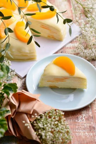 Bánh đẹp đến nỗi không lỡ ăn (Nguồn: 38 Flower Market Tea House)