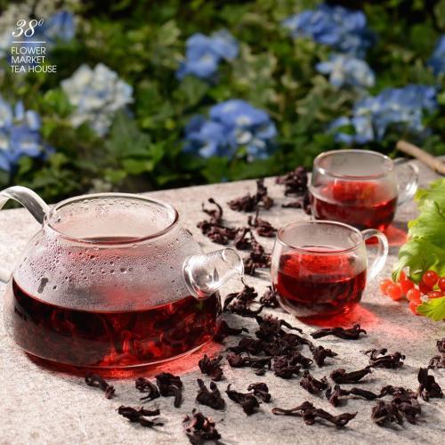 Đủ các thứ trà thảo dược thơm ngon (Nguồn: 38 Flower Market Tea House)