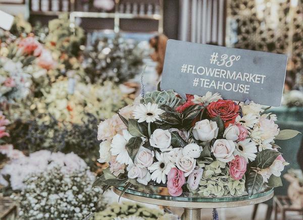 Chỉ còn trà, hoa và những câu chuyện bình dị (Nguồn: 38 Flower Market Tea House)