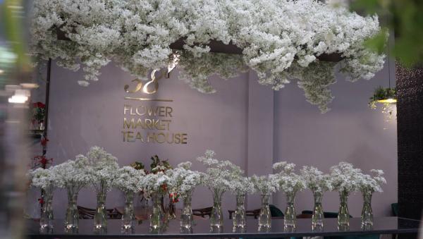 Góc chụp nào bạn cũng có được những tấm ảnh xinh lung linh (Nguồn: 38 Flower Market Tea House)