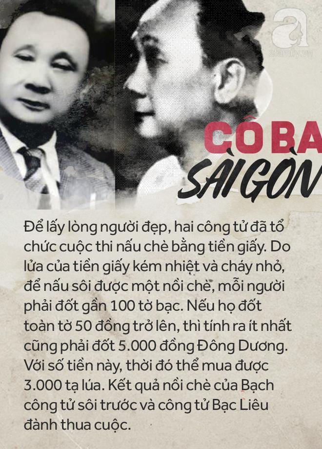 Giai thoại hai công tử nổi đình nổi đám Lục tỉnh thời đó tranh nhau có được trái tim của Cô Ba Sài Gòn.