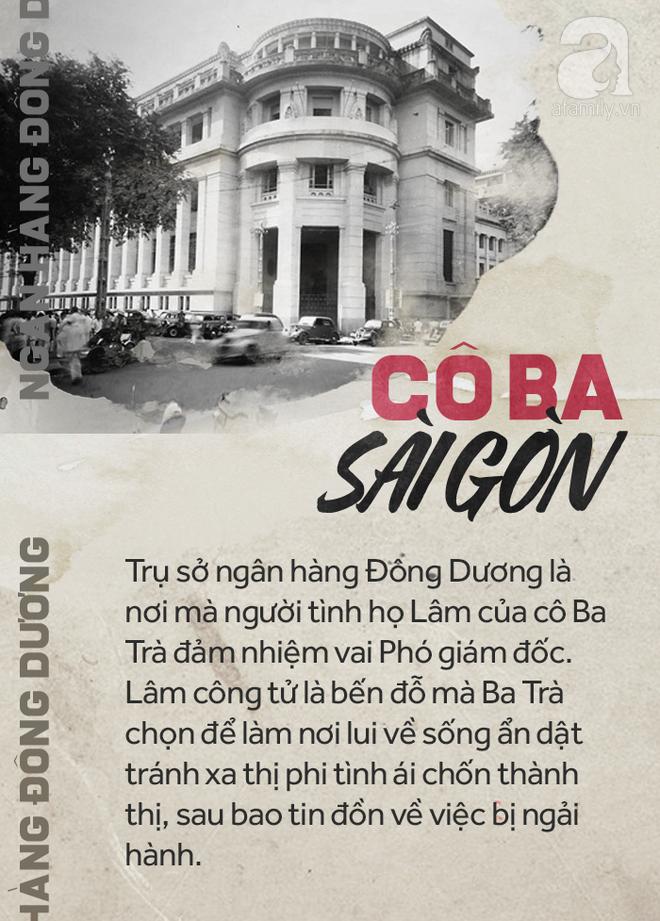 Hình ảnh cũ của trụ sở ngân hàng Đông Dương, nơi công tử xứ Cần Thơ làm Phó Giám Đốc, là bến đỗ cuối cùng của cô Ba Trà.