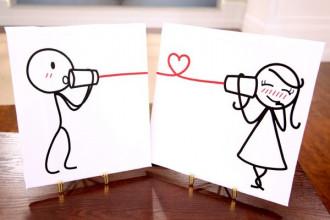Yêu xa cần rất nhiều dũng cảm, nhưng yêu gần có thể đòi hỏi ở bạn quá nhiều hi sinh - Ảnh: Weheartit