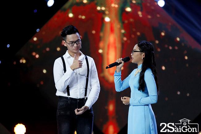3. Thi sinh Quang Huy va Phuong My Chi (2)
