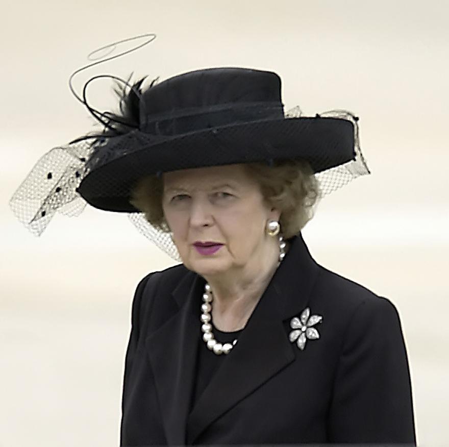 """""""Người phụ nữ thép"""" Margaret Thatcher (Ảnh: Wikipedia)."""