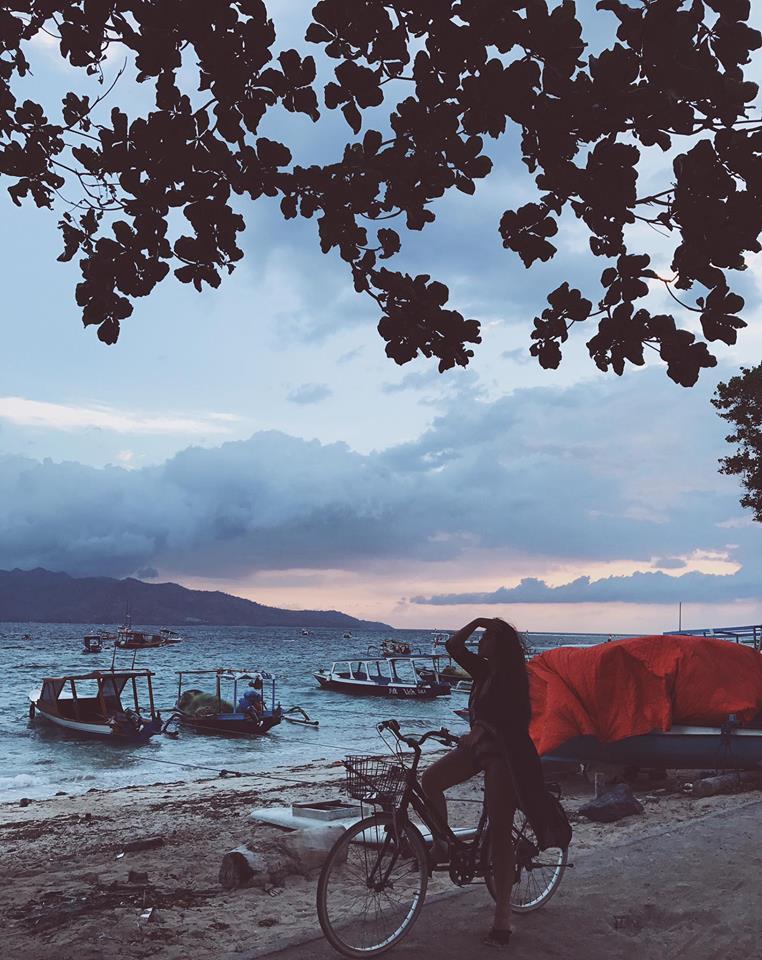 Khung cảnh bình dị ở hòn đảo xinh đẹp Bali của Indonesia