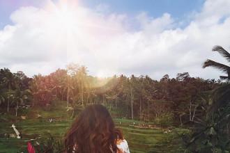 Huỳnh Bích Phượng, cô gái 25 tuổi đến từ Sài Gòn đã quyết tâm đặt chân tới Bali, một hòn đảo đầy lí thú