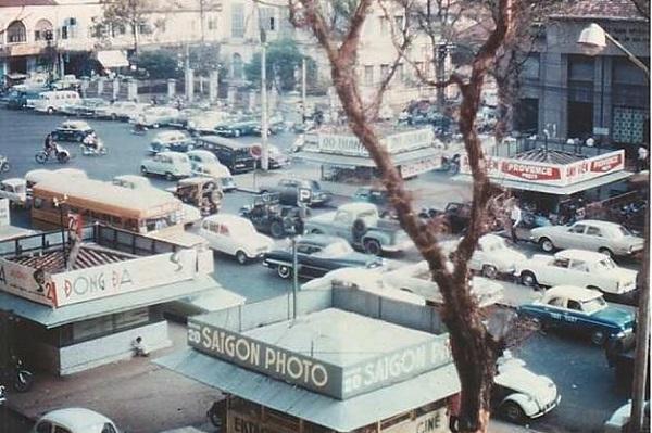 Sài Gòn thập niên 1960.