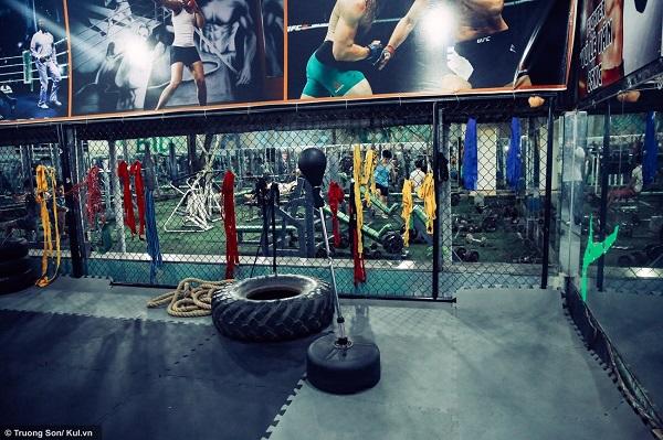CLB của HLV Ngô Xuân Hải được thành lập khoảng 7 tháng, là một trong số ít phòng tập MMA tại TP.HCM