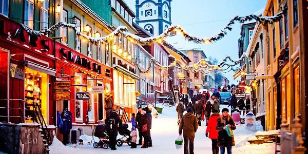 Giáng sinh ở Na Uy - quốc gia hạnh phúc nhất thế giới - Ảnh: VitsitNorway
