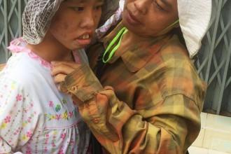 Chị Trinh và con gái Tiên Đào - Ảnh: Internet