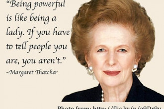 Cựu thủ tướng Anh Margaret Thatcher (Ảnh: Flickr, Anne Adrian)