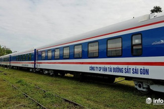 Các toa tàu mới đóng được sử dụng từ tháng 12/2017. Ảnh: Hoàng Nam