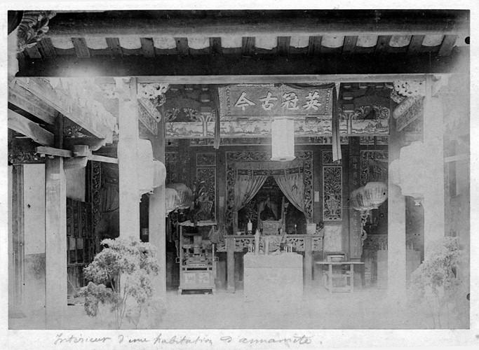Nội thất của chùa Tàu. Ảnh tư liệu.